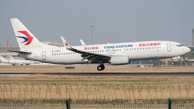 B-1307 - Boeing 737-89P - China Eastern Airlines