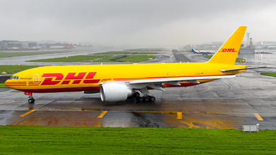A picture of DAALO - Boeing 777F - DHL - © Aneesh Bapaye