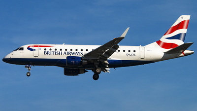 G-LCYE - Embraer 170-100STD - BA CityFlyer