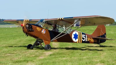 SP-MAM - Piper L-4H Cub - Private