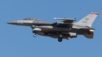 92-3918 - Lockheed Martin F-16CJ Fighting Falcon - United States - US Air Force (USAF)