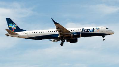 A picture of PRAUJ - Embraer E195AR - Azul Linhas Aereas - © Renan Araújo