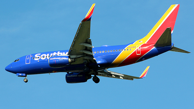 N456WN - Boeing 737-7H4 - Southwest Airlines