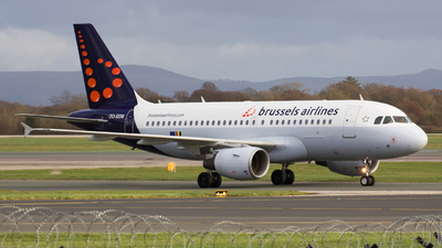 OO-SSW - Airbus A319-111 - Brussels Airlines