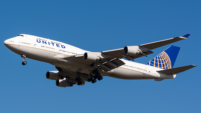 N119UA - Boeing 747-422 - United Airlines