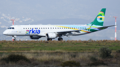 A picture of 4XEMA - Embraer E195AR - Arkia Israeli Airlines - © Alex Maras
