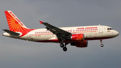 VT-SCM - Airbus A319-132 - Air India