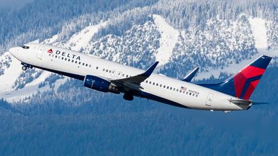N387DA - Boeing 737-832 - Delta Air Lines