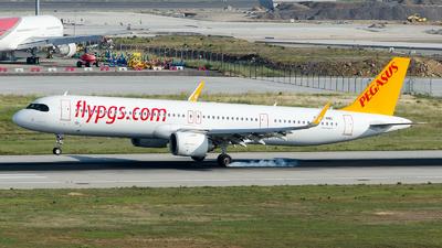 A picture of TCRBC - Airbus A321251NX - Pegasus Airlines - © Alp AKBOSTANCI