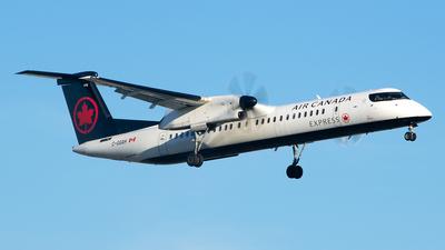 C-GGAH - Bombardier Dash 8-Q402 - Air Canada Express (Jazz Aviation)