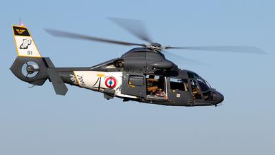 91 - Aérospatiale SA 365N Dauphin 2 - France - Navy
