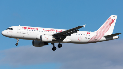 A picture of TSIMS - Airbus A320214 - Tunisair - © Sierra Aviation Photography
