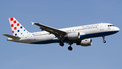 A picture of 9ACTJ - Airbus A320214 - Croatia Airlines - © RobertLN