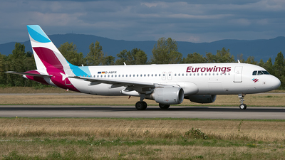 D-ABFR - Airbus A320-214 - Eurowings (Air Berlin)