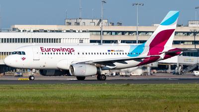 D-AGWU - Airbus A319-132 - Eurowings
