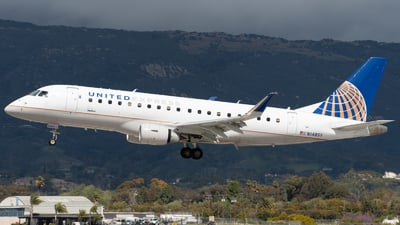 A picture of N148SY - Embraer E175LR - United Airlines - © Beck Ramsey