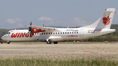 PK-WJT - ATR 72-212A(600) - Wings Air