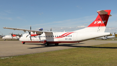 OY-JZG - ATR 72-212A(600) - Far Eastern Air Transport (FAT)