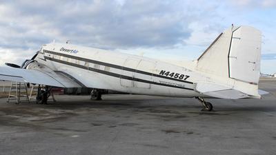 N44587 - Douglas DC-3C - Desert Air Transport