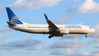 HP-1712CMP - Boeing 737-8V3 - Copa Airlines