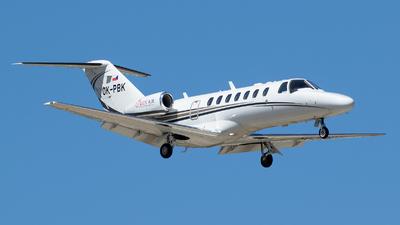 A picture of OKPBK - Cessna 525B CitationJet CJ3 -  - © RAFAL KUKOWSKI