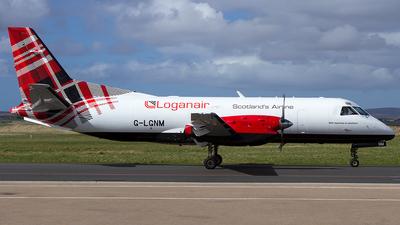 A picture of GLGNM - Saab 340B(F) - Loganair - © SF 340