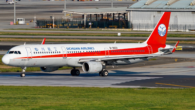 A picture of B8601 - Airbus A321211 - Sichuan Airlines - © Miaomiao