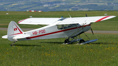 HB-POD - Piper PA-18-180M Super Cub - Albis Wings