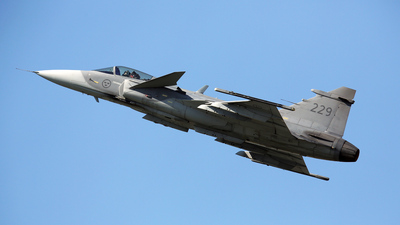39229 - Saab JAS-39C Gripen - Sweden - Air Force