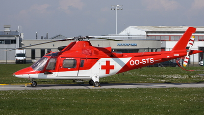 OO-STS - Agusta A109K2 - Air Transport Europe (ATE)