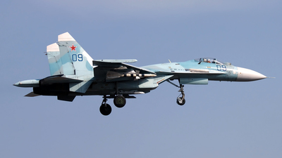 09 - Sukhoi Su-27SM Flanker - Russia - Air Force