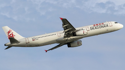 B-HTI - Airbus A321-231 - Dragonair