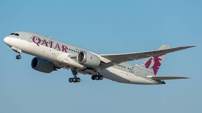 A picture of A7BCD - Boeing 7878 Dreamliner - Qatar Airways - © Ivancsevits Adaam