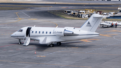 C-FAMB - Bombardier CL-600-2B16 Challenger 604 - Private