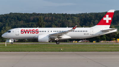 A picture of HBJCN - Airbus A220300 - Swiss - © Christian Kruhl