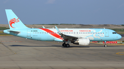 B-8895 - Airbus A320-214 - Loong Air