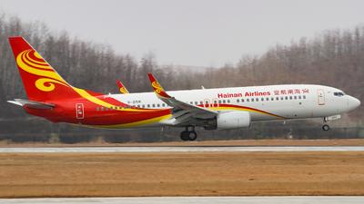 A picture of B2158 - Boeing 73784P - [32601] - © zhuenxu2003