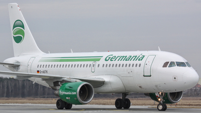 D-ASTK - Airbus A319-112 - Germania