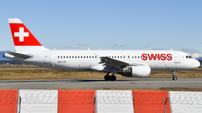 A picture of HBIJQ - Airbus A320214 - Swiss - © Raoul Andries