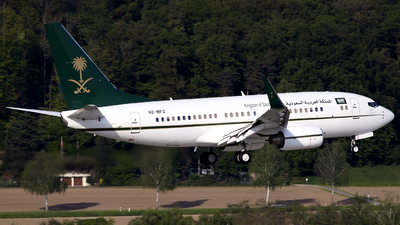 HZ-MF2 - Boeing 737-7AH(BBJ) - Saudi Arabia - Ministry of Finance