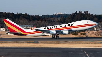 A picture of N401KZ - Boeing 747481F - Kalitta Air - © Yuto Kiuchi