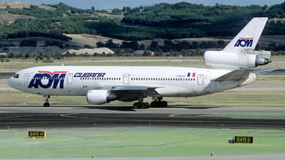 F-GLMX - McDonnell Douglas DC-10-30 - AOM French Airlines