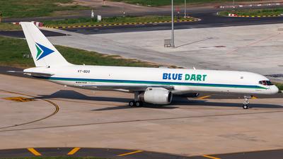 A picture of VTBDO - Boeing 757204(PCF) - Blue Dart Aviation - © Sandeep Pilania