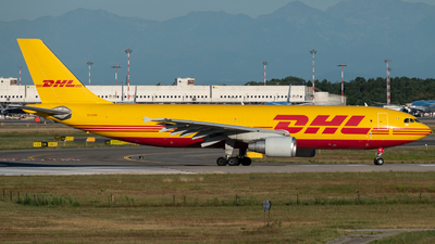 A picture of EIDGU - Airbus A300B4622R(F) - DHL - © Tommi
