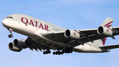 A7-APA - Airbus A380-861 - Qatar Airways