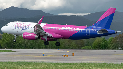 A picture of HALYR - Airbus A320232 - Wizz Air - © Fabio Pozzessere