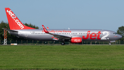 G-JZBN - Boeing 737-8MG - Jet2.com
