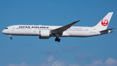 JA861J - Boeing 787-9 Dreamliner - Japan Airlines (JAL)