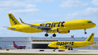 N668NK - Airbus A321-231 - Spirit Airlines