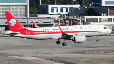 B-8683 - Airbus A320-271N - Sichuan Airlines